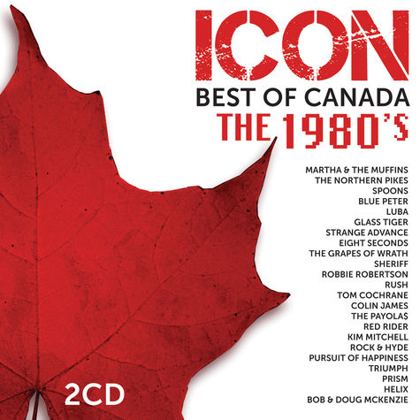 Various Artists: Icon: Best of Canada - The 1980's (2CD)