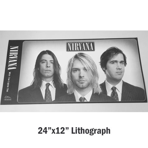 Nirvana: With The Lights Out - Lithograph