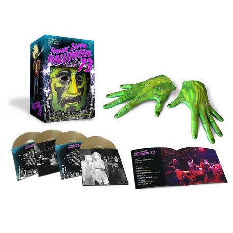Frank Zappa: Halloween '73 (Highlights) (4CD)