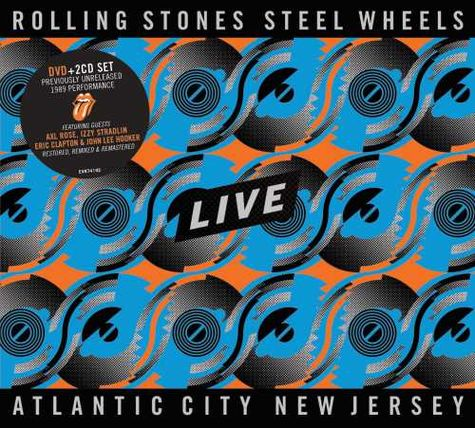 The Rolling Stones: Steel Wheels - Atlantic City, NJ (DVD/2CD)