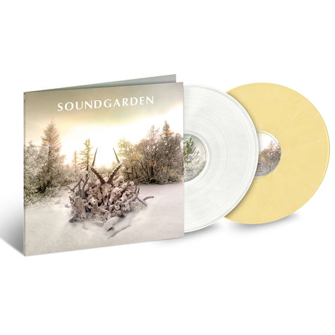 Soundgarden: King Animal (2LP White/Butter Cream) (LP)