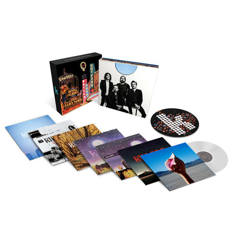 The Killers: Career Box - Limited Edition Clear Vinyl Version