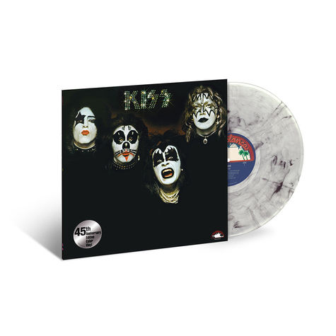 Kiss: KISS (45th Anniv) (Clear with Black Swirls) (LP)