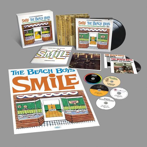 The Beach Boys: Smile Sessions Boxed Set (5CD, 2LP, 2 X 7