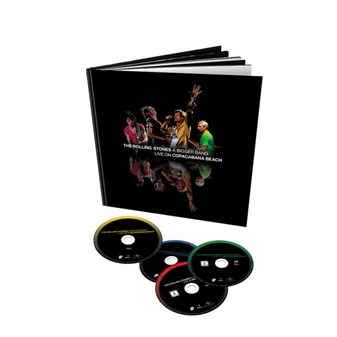 The Rolling Stones: A Bigger Bang Live On Copacabana Beach (Deluxe 12x12 2DVD/2CD + Book)