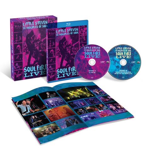 Little Steven: Soulfire Live (2 Blu-Ray)