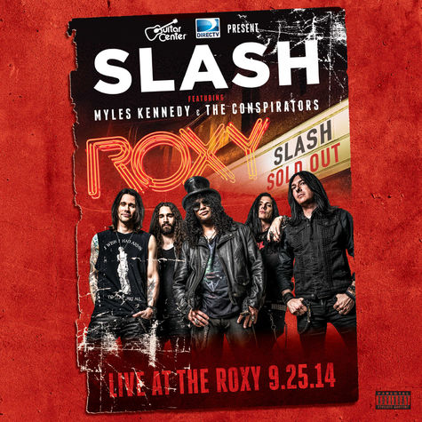 Slash: Live At The Roxy 9/25/14 (2CD)