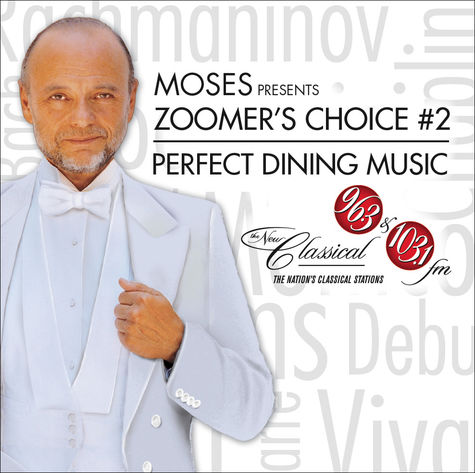 Various Artists: Moses Presents Zoomer's Choice #2: Perfect Dining Music (CD)