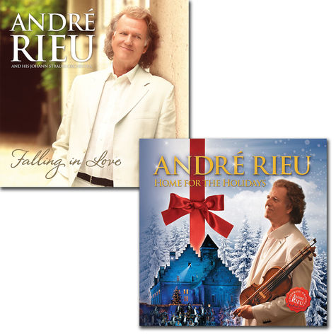 André Rieu: Falling In Love + Home For The Holidays CD Bundle