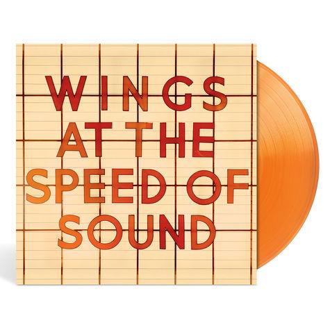 Paul McCartney: Wings: At The Speed Of Sound (Orange Vinyl)