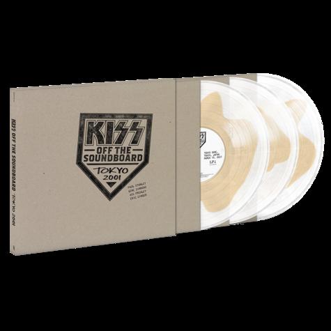 Kiss: Off The Soundboard: Tokyo 2001 (3LP Crystal Clear & Tan)