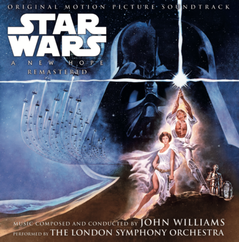 John Williams: Star Wars A New Hope Original Motion Picture Soundtrack (2LP)