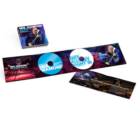 Neil Diamond: Hot August Night III (2CD/Blu-Ray)