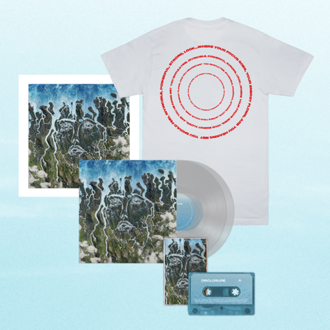Disclosure: Exclusive Clear LP, Signed Art Card, Cassette + Energy Lyric Tee