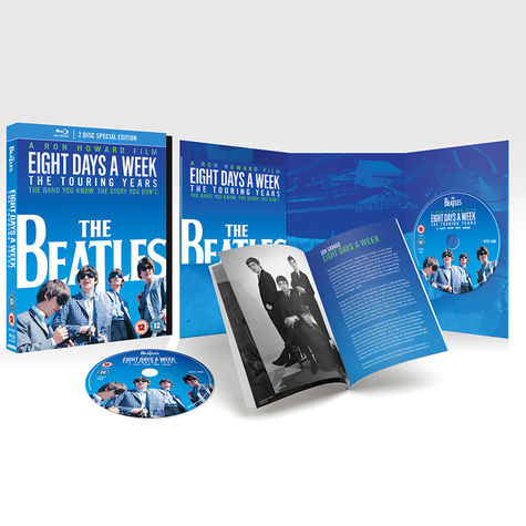 The Beatles: Eight Days A Week - The Touring Years (DLX 2 Blu-Ray + Book)