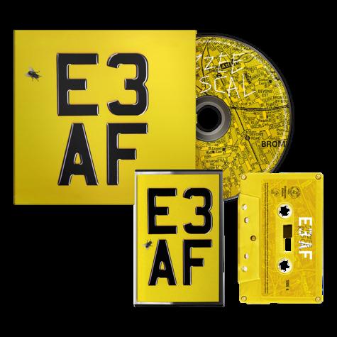 Dizzee Rascal: E3 AF: Cassette, CD + Signed Artcard