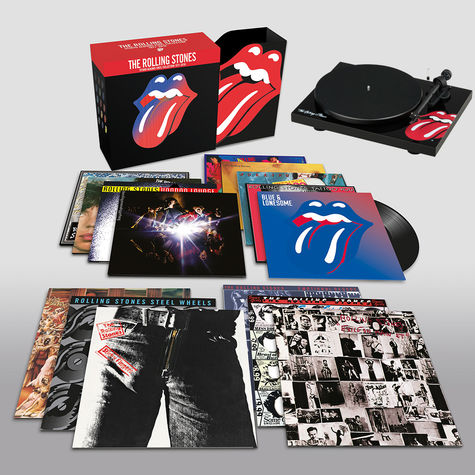 The Rolling Stones: Studio Albums Vinyl Collection + The Rolling Stones Turntable