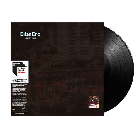 Brian Eno: Discreet Music (2LP Half-Speed)