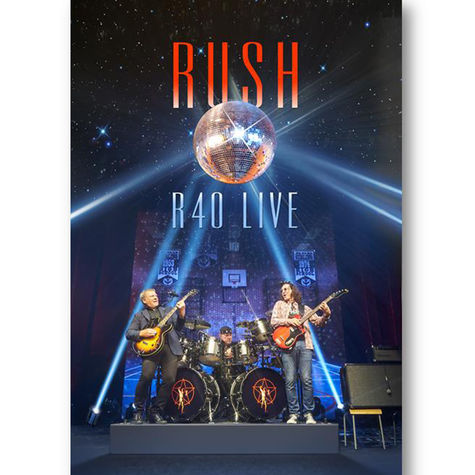 Rush: R40 Live (3CD + DVD)