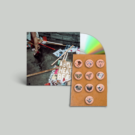 Mystery Jets: CD + Pin badges