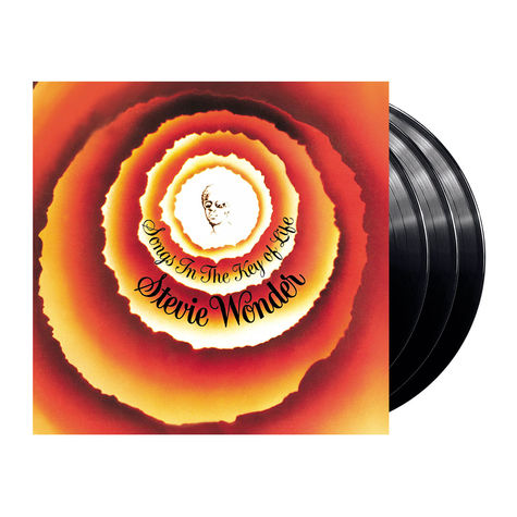 Stevie Wonder: Songs in the Key of Life (3LP)