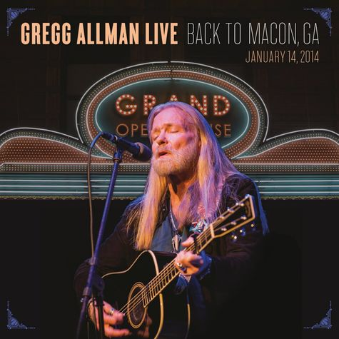 Gregg Allman: Live Back To Macon (2CD + BR)