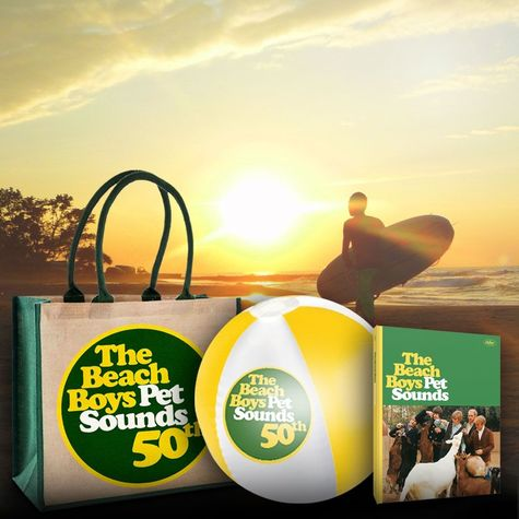 The Beach Boys: Pet Sounds: 50th Anniversary Collectors Edition Exclusive Beach Bundle