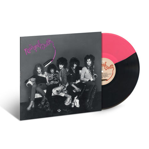 New York Dolls: New York Dolls (Opaque Pink / Black Vinyl)