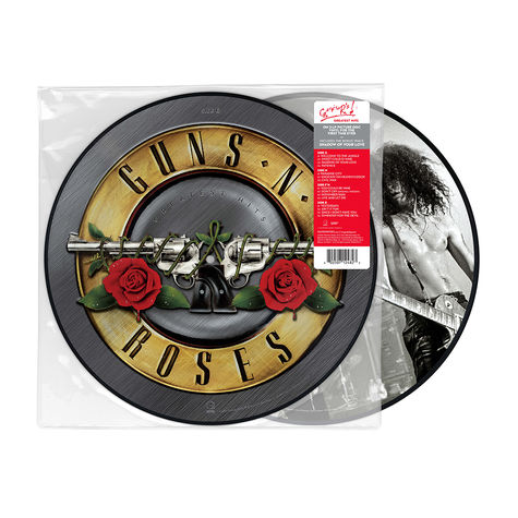 Guns N' Roses: Greatest Hits Artist Store Exclusive - Picture Disc