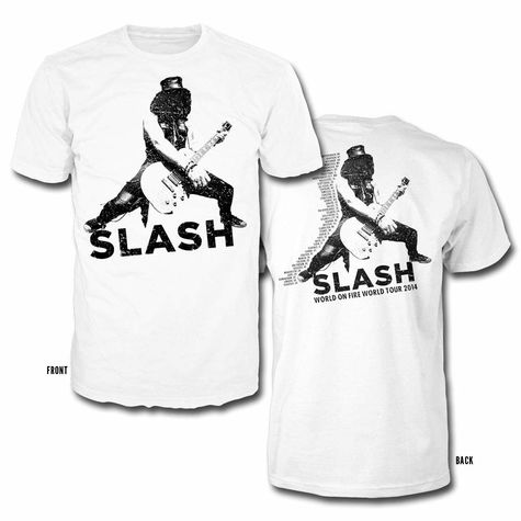 Slash: World On Fire Tee