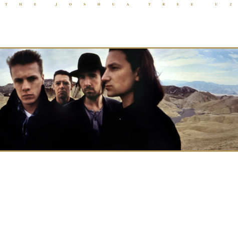 U2: The Joshua Tree - Deluxe (2CD)