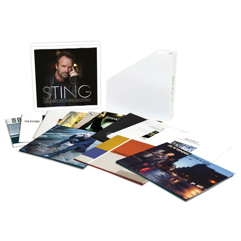 Sting: Sting - The Complete Studio Collection (12 Albums / 16 LP Box)