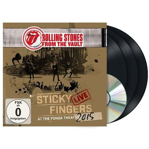The Rolling Stones: Sticky Fingers Live At The Fonda Theatre (3LP + DVD)