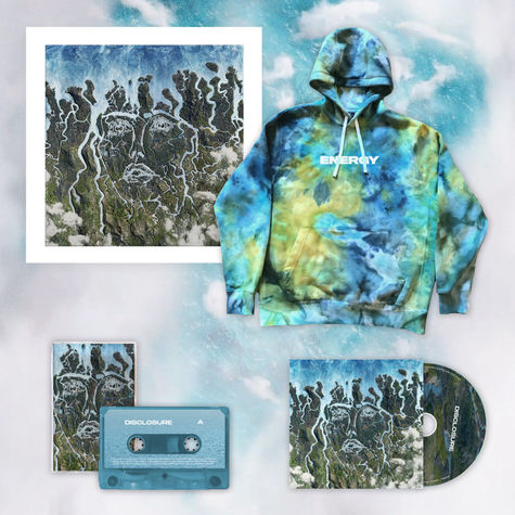 Disclosure: LIMITED EDITION TIE DYE HOODIE, SIGNED LITHO, CD + CASSETTE