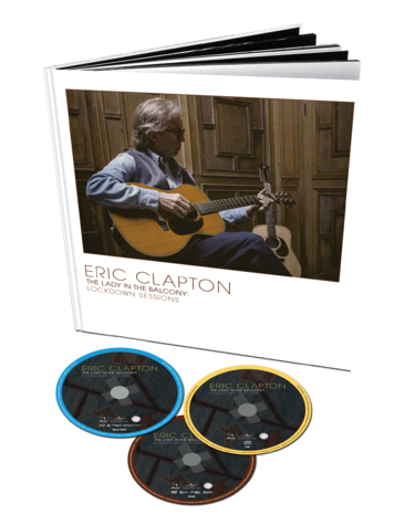 Eric Clapton: The Lady In The Balcony: The Lockdown Sessions (DVD+CD+Book)