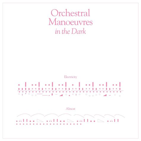 Orchestral Manoeuvres In The Dark: Electricity (7