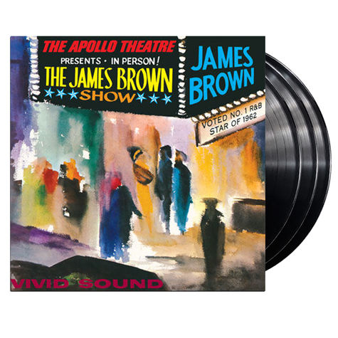 James Brown: Live At The Apollo (3LP)