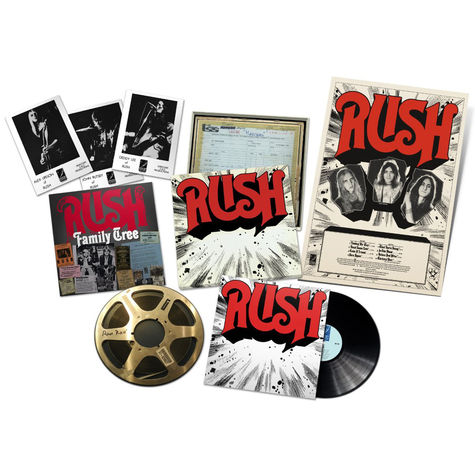 Rush: Rush Rediscovered (40th Anniversary Boxed Set)