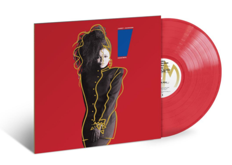 Janet Jackson: Control (Translucent Red) (LP)