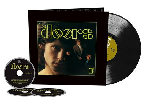 The Doors: The Doors - 50th Anniversary Deluxe (3CD+LP)