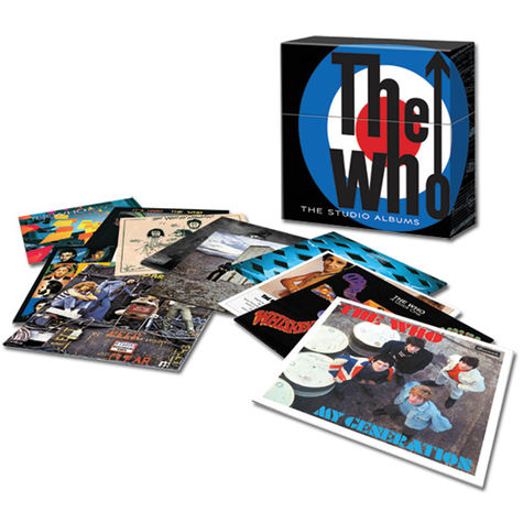 The Who: The Studio Albums Boxed Set (14 LP)