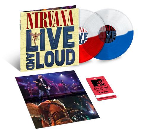 Nirvana: Nirvana - Live and Loud: Exclusive Split Colour Vinyl