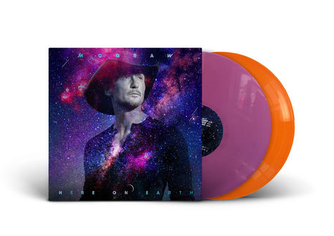Tim Mcgraw: Here On Earth (D2C Exclusive Double Coloured Vinyl)