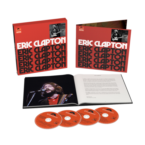 Eric Clapton: Anniversary Deluxe Edition (4CD)