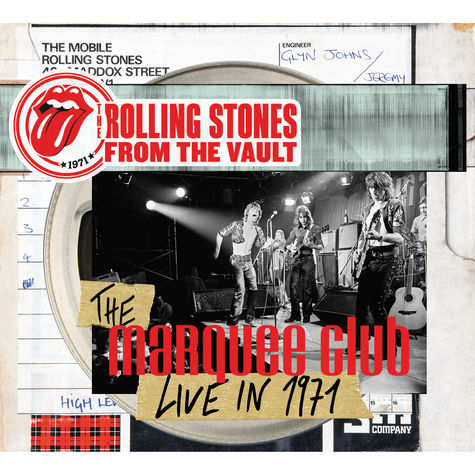 The Rolling Stones: The Marquee Club Live in 1971 (CD/Blu-Ray)