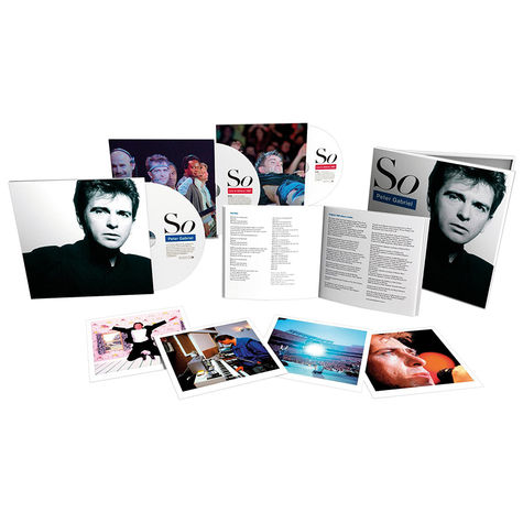 Peter Gabriel: So: 25th Anniversary Super Deluxe Edition (4CD + 2DVD + 2LP)