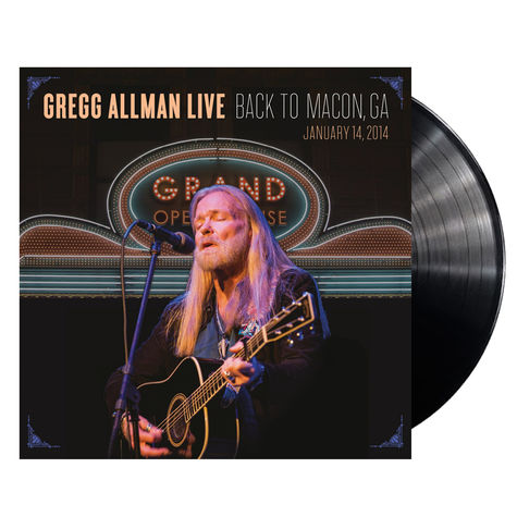 Gregg Allman: Live Back To Macon