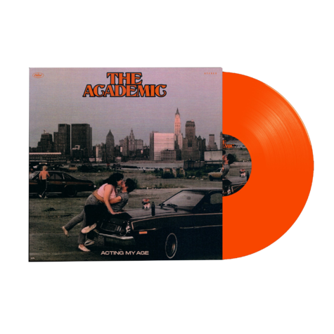 The Academic : Acting My Age Translucent Orange Vinyl + Signed Card