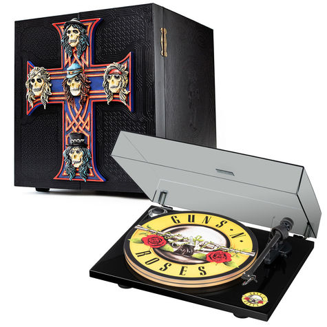 Guns N' Roses: Appetite For Destruction - Locked N' Loaded Edition + GNR Logo Turntable