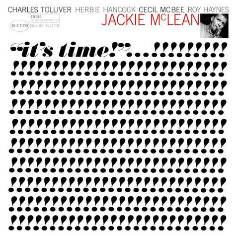 Jackie Mclean: It's Time (Blue Note Tone Poet Series) (LP)